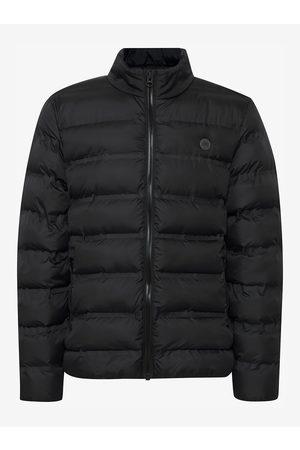 Blend Černá zimní prošívaná bunda