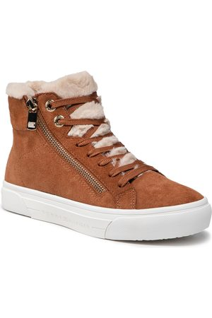Tommy Hilfiger Suede Warmlined Th Mid Sneaker FW0FW05362