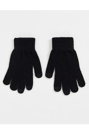 SVNX Touch screen gloves in black