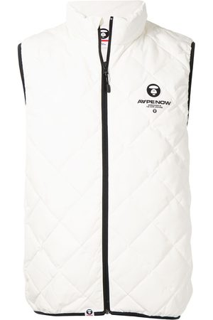 AAPE BY A BATHING APE Zip-up padded gilet