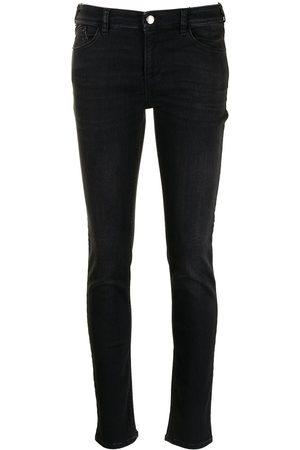 Emporio Armani Ženy Skinny - Mid-rise skinny jeans