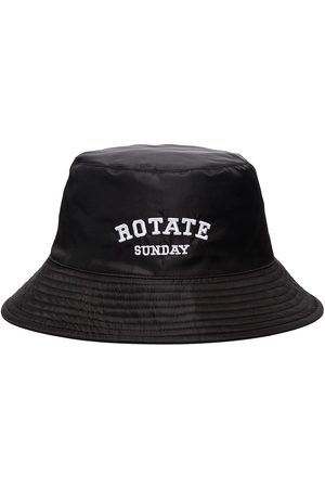 ROTATE Bianca embroidered bucket hat