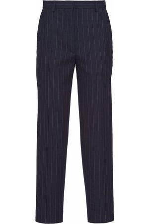 Prada Pinstripe-pattern tailored trousers