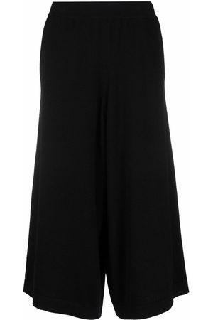 OYUNA Cashmere-knit culottes