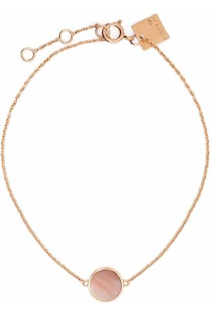 GINETTE NY 18kt yellow gold Mini Ever mother-of-pearl disc bracelet