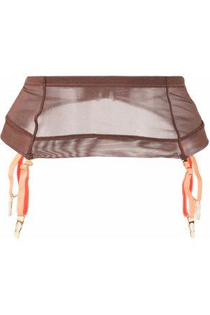 MAISON CLOSE Ženy Doplňky - Semi-sheer garter belt