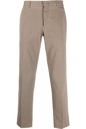 PT01 Straight stretch-cotton trousers