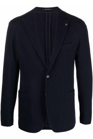 TAGLIATORE Peak-lapels single-breatsed blazer