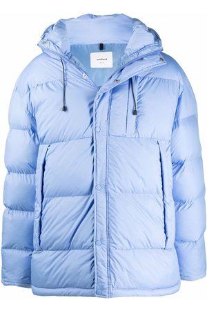 Soulland Ian hooded padded coat