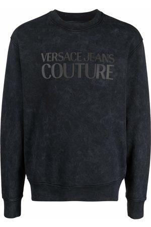 VERSACE Mikiny bez kapuce - Logo-print sweatshirt