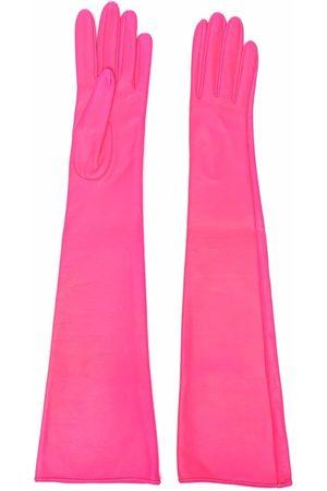 Manokhi Ženy Rukavice - Long-length leather gloves