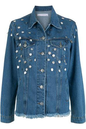 LUIZA BOTTO Embellished denim jacket