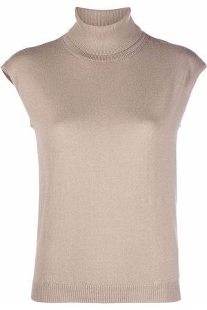 GENTRYPORTOFINO Sleeveless knitted top