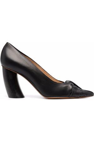 Angelo Figus Ženy Se zavřenou špičkou - Pointed toe block-heel pumps