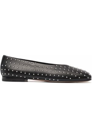 NEW STANDARD Love studded ballerina shoes