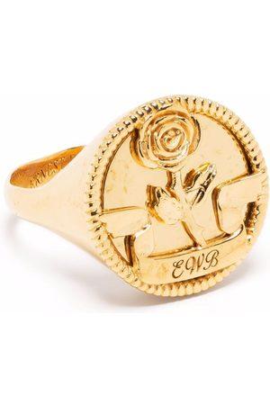 Ernest W. Baker Rose signet ring