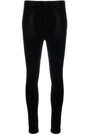 Alchemy Ženy Úzké nohavice - Velvet skinny trousers