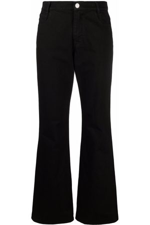 RAF SIMONS Mid-rise flared jeans
