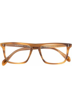 Oliver Peoples Bernardo square-frame glasses