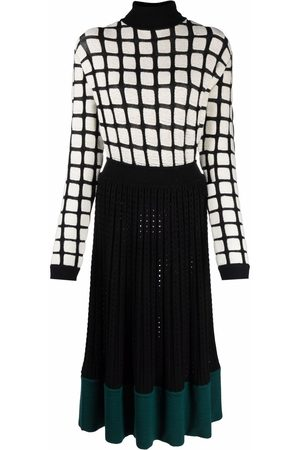 PORTS 1961 Panelled knitted dress