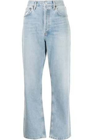 AGOLDE High-rise straight-leg jeans