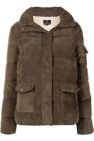 Unreal Fur High-neck padded jacket