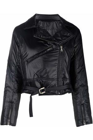 PORTS 1961 Padded biker jacket