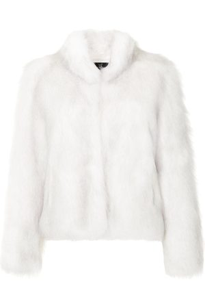Unreal Fur Fur Delish high-neck jacket