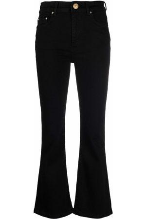 Chiara Ferragni Ženy Široké nohavice - Wide cropped leg trousers