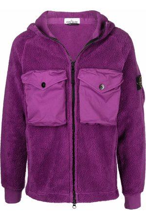 Stone Island Muži Fleecové - Compass-patch fleece jacket