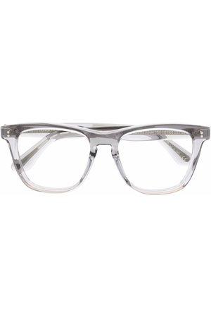 Oliver Peoples Sluneční brýle - Lynes transparent square-frame lenses