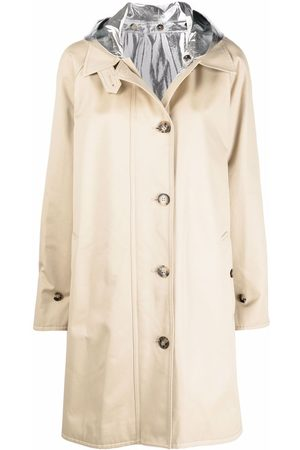 Paco rabanne Buttoned-up parka coat