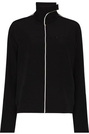 Commission Tennis high-neck track jacket