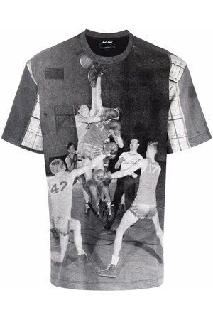 JUST DON Muži S krátkým rukávem - Graphic print crew-neck T-shirt