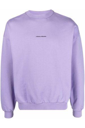 A BETTER MISTAKE Essential logo-print sweatshirt