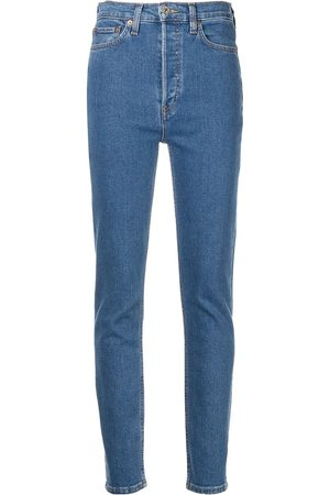 RE/DONE Ženy Skinny - 90's mid-rise ankle crop jeans