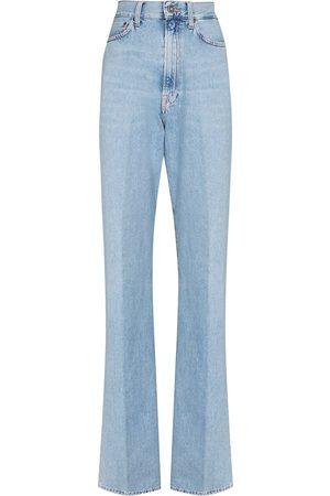 Made In Tomboy Ženy S vysokým pasem - Erica high rise straight leg jeans