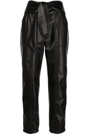 JONATHAN SIMKHAI Tessa faux-leather trousers