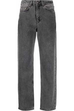ROTATE Ženy S vysokým pasem - Betty high-rise straight-leg jeans