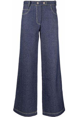 Marco Rambaldi Ženy Bootcut - Flared mid-rise jeans