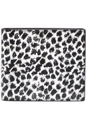 Saint Laurent Leopard-print leather wallet