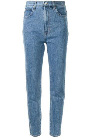 SLVRLAKE Beatnik straight-leg cropped jeans