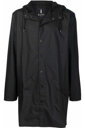 Rains Pláštěnky - Press-stud hooded raincoat