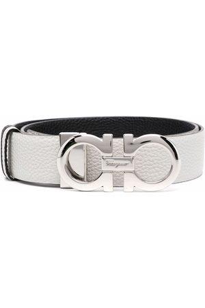 Salvatore Ferragamo Ženy Pásky - Donna gancini leather belt