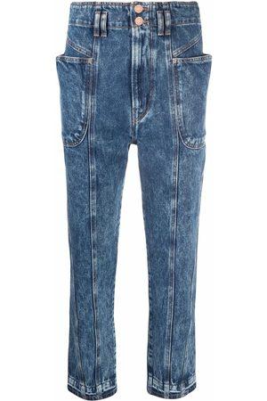 Isabel Marant Ženy Mom džíny - Acid wash mum jeans
