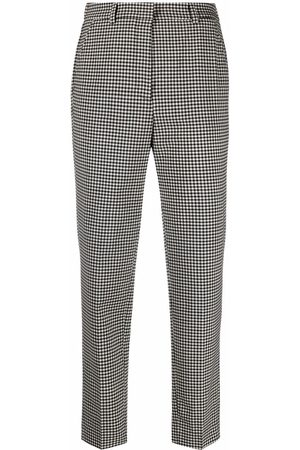 Incotex Gingham check tailored trousers