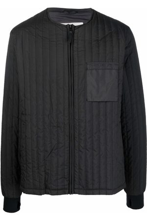 Rains Zip-up quilted jacket