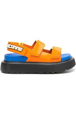 Comme des Garçons + Melissa chunky flatform sandals