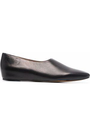 12 STOREEZ Ženy Baleríny - Square toe leather shoes