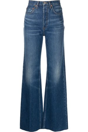 RE/DONE 70s Ultra high-rise wide-leg jeans